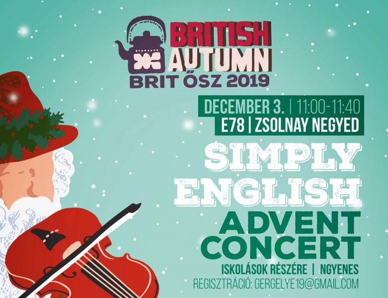 Simply English - Advent Concert